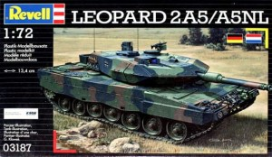 Leopard 2A5/A5NL 1:72 model plastikowy do sklejania (3187)