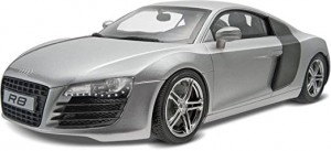 Audi R8 Black model do sklejania Revell 7057