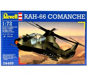 Rah - 66 Comanche 1:72 (4469) model plastikowy do sklejania