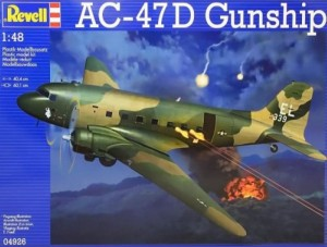 Model do sklejania AC-47D Gunship 4926 Revell