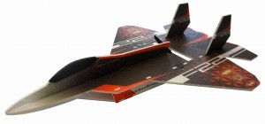 F-22 Raptor Samolot RC Factory Fun series