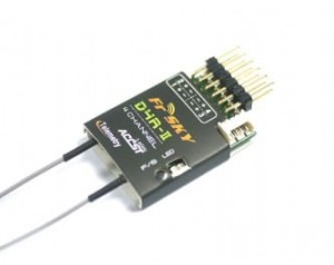Odbiornik FrSky 2.4GHz D4R-II - telemetria + RSSI (PWM) i CPPM output