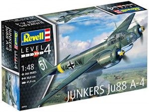 Junkers JU-88 A4 1/48 model do sklejania