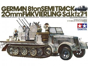 German Semi Track Sdkfz 7/1 model do sklejania Tamiya 35050