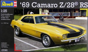 Camaro Z/28 1:25  model plastikowy do sklejania (7081)