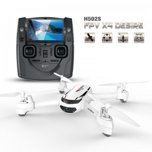 Dron Hubsan X4 H502S GPS video online