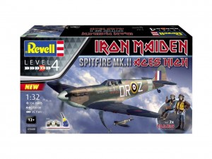 Spitfire MK.II 1/32 Aces High Iron Maiden Revell 5688