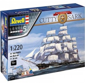 Cutty Sark żaglowiec Revell model do sklejania 5430