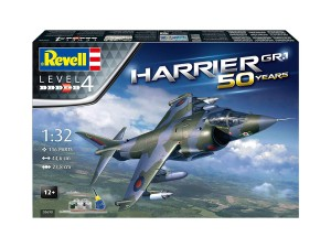 Hawker Harrier GR 1 model do sklejania Revell 5690
