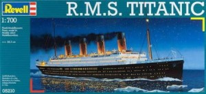 RMS Titanic 1/700 Revell model do sklejania 5210.