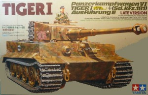 Tamiya 35146 Tiger I Late Version 1/35