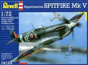 Supermarine Spitfire Mk V 1:72 (4164) model plastikowy do sklejania