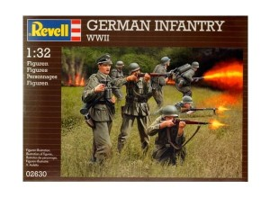 German Infantry WWII Revell - 02630