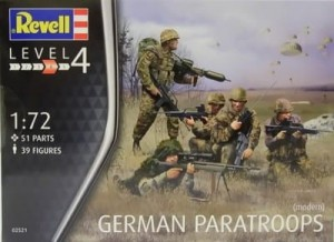 German Paratroops Revell 02521