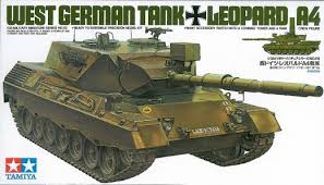 German Leopard A4 Tamiya 35112 Model do sklejania