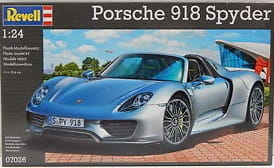 Porsche 918 Spyder model do sklejania Revell 7026
