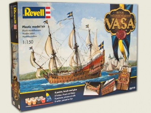 vasa_revell model do sklejania
