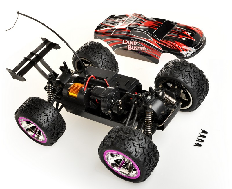 land buster zestaw rc